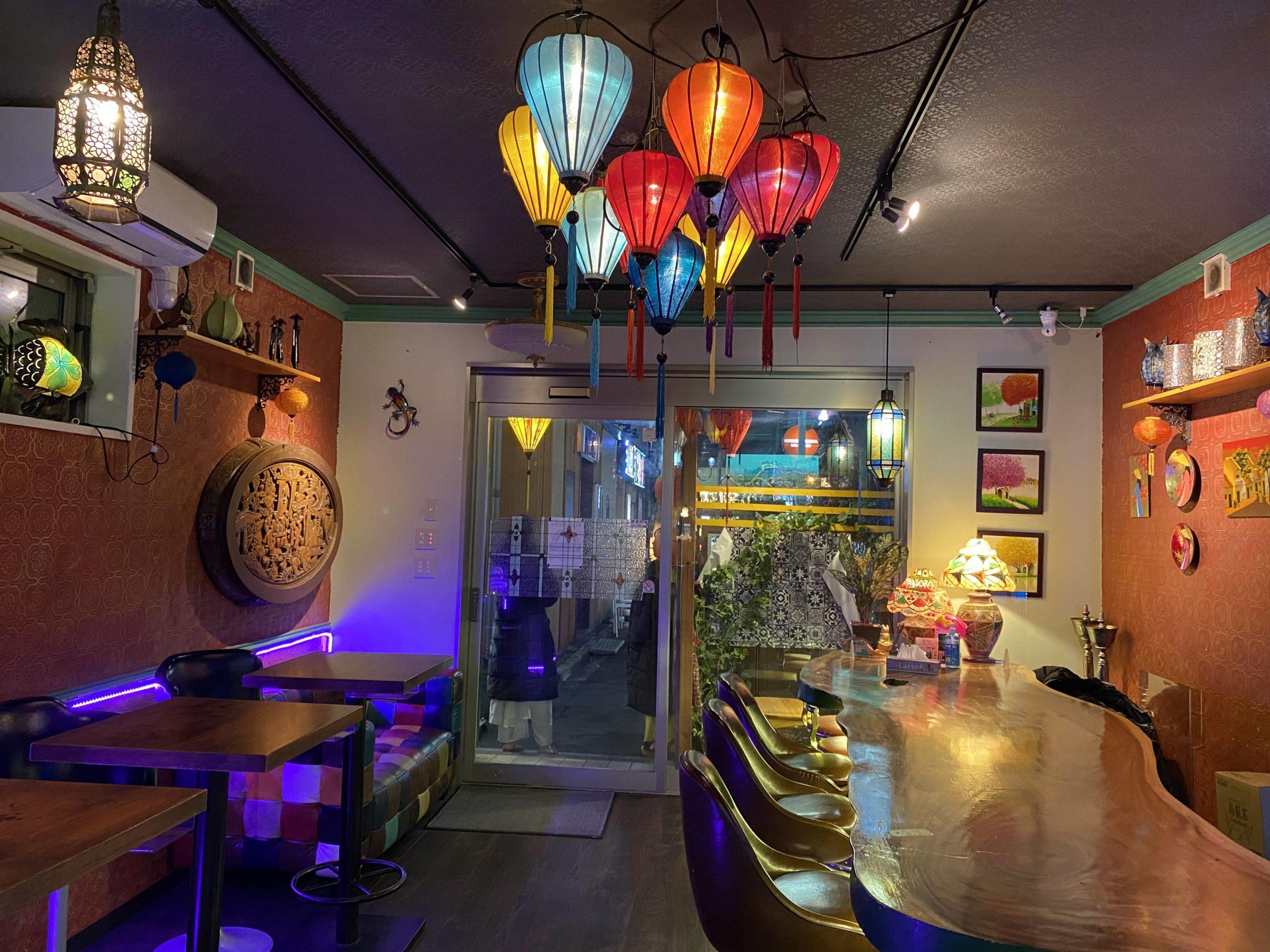 Vietnam BAR 333 店内