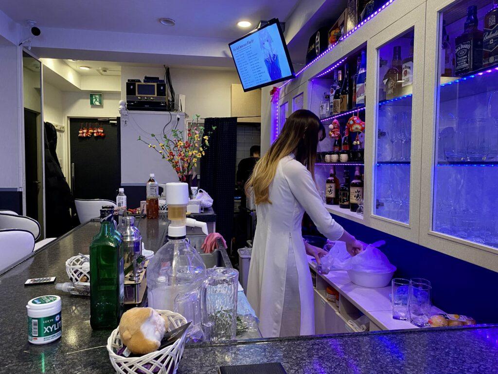 lua cafe bar ベトナムバー ルア
